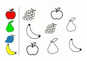fruit coloring