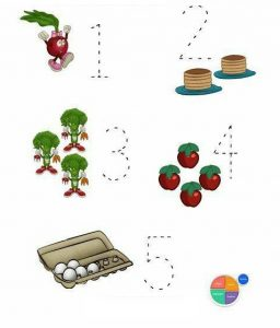 fruit math activity