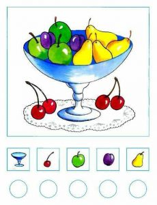 fruit math worksheets (2)