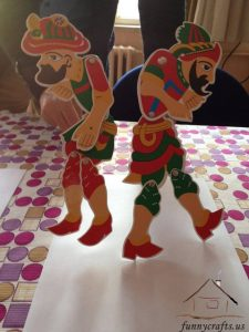 karagöz and hacivat puppets