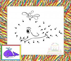 ocean animal dot to dot sheet