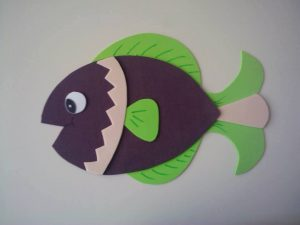 ocean animals fish crafts (7)