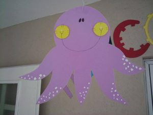 octapus craft from foam