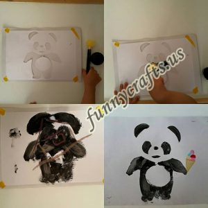 panda crafts for toddlers