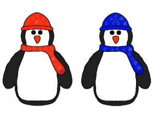 penguin pompom match activities