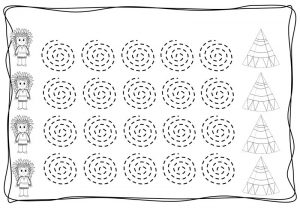 pre writing spirals sheets (9)
