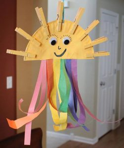 recycled clothespin craft