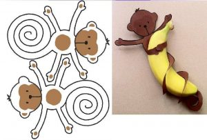 recycled monkey craft