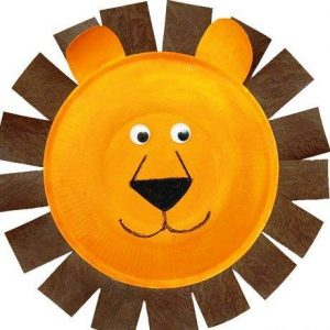 recycled paper plate animals crafts (2)