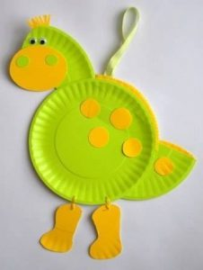 recycled paper plate animals crafts (3)