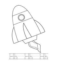 rocket coloring (1)