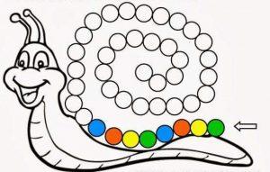 snail pattern sheets