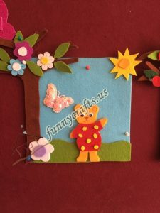 spring felt craft