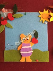 summer felt craft