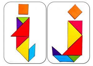 tangram alphabetI-J