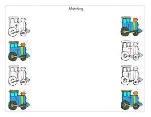 train matching activity