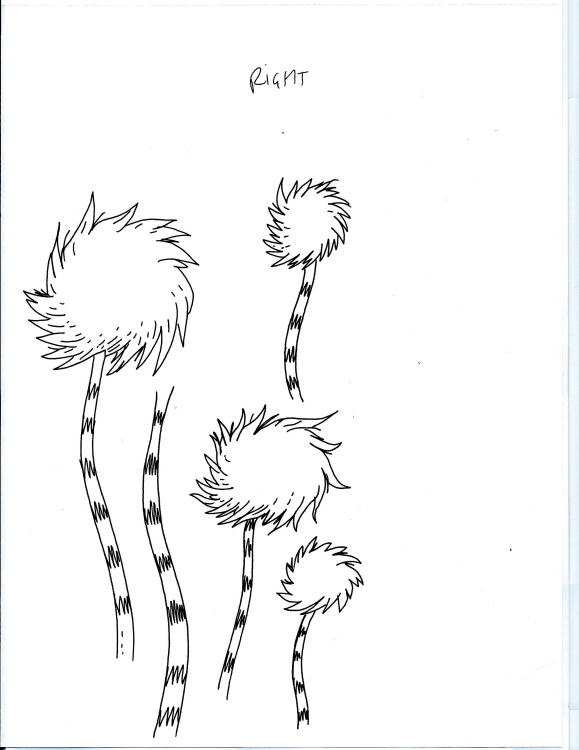 truffle trees coloring pages - photo#2