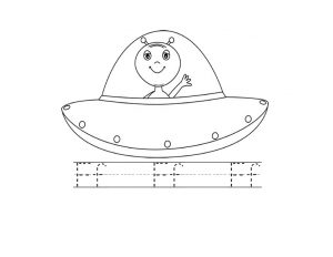 ufo coloring pages (2)