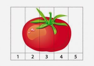 vegatables number puzzles (6)