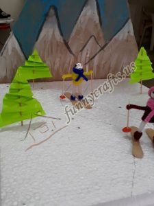 winter olympic crafts for kids