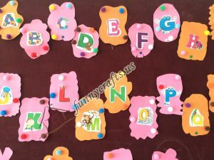 Alphabet bulletin board  (1)