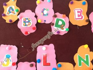 Alphabet bulletin board  (5)