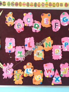Alphabet bulletin board  (6)