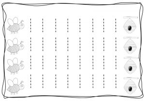 Vertical tracing line sheets (3)