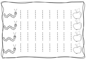 Vertical tracing line sheets (4)