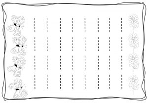 Vertical tracing line sheets (5)