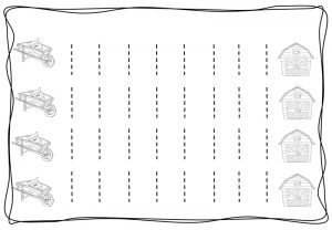 Vertical tracing line sheets (6)