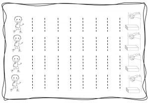 Vertical tracing line sheets (7)