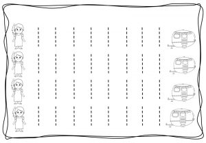 Vertical tracing line sheets (8)