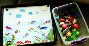 aquarium themed activity