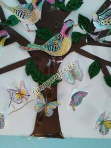 bird themed wall decorations for school (2)