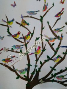 bird themed wall decorations for school (4)