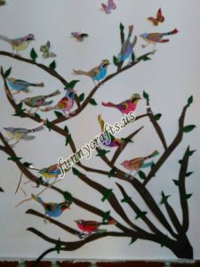 bird themed wall decorations for school (6)