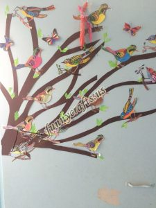 bird themed wall decorations for school (7)