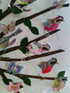 bird themed wall decorations for school (9)