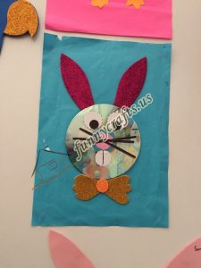 bunny cd craft