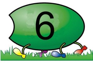 caterpillar number  cards (12)