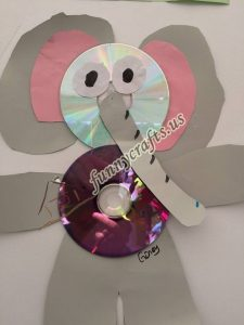 elephant cd craft