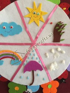 felt weather craft ideas (6)