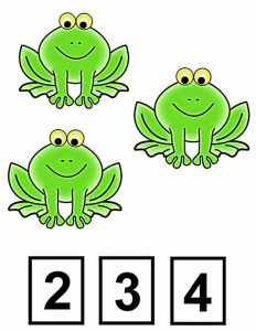 frog clothespin card