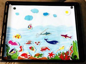 homemade aquarium refrigerator magnet (1)