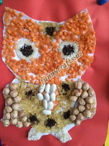 owl seed craft for children (7)