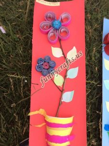 paper cup creative  flowers craft (1)