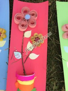 paper cup creative  flowers craft (3)