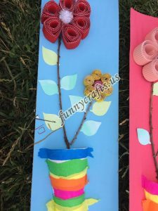 paper cup creative  flowers craft (5)