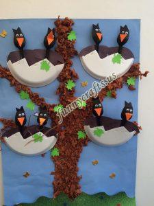 paper plate bird crafts (3)